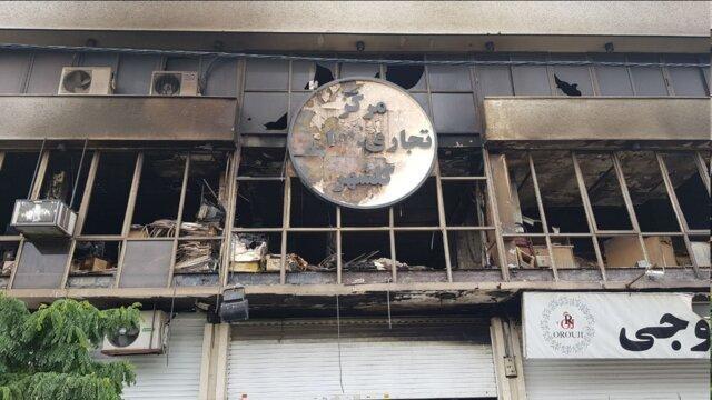 کمیته امداد تعدادی از کسبه خسارت دیده مرکز تجاری گلشهر را حمایت می کند