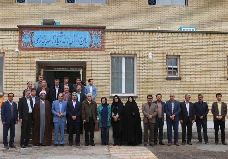سالن ورزشی ناصر حجازی برای دختران شهرستان ایوان