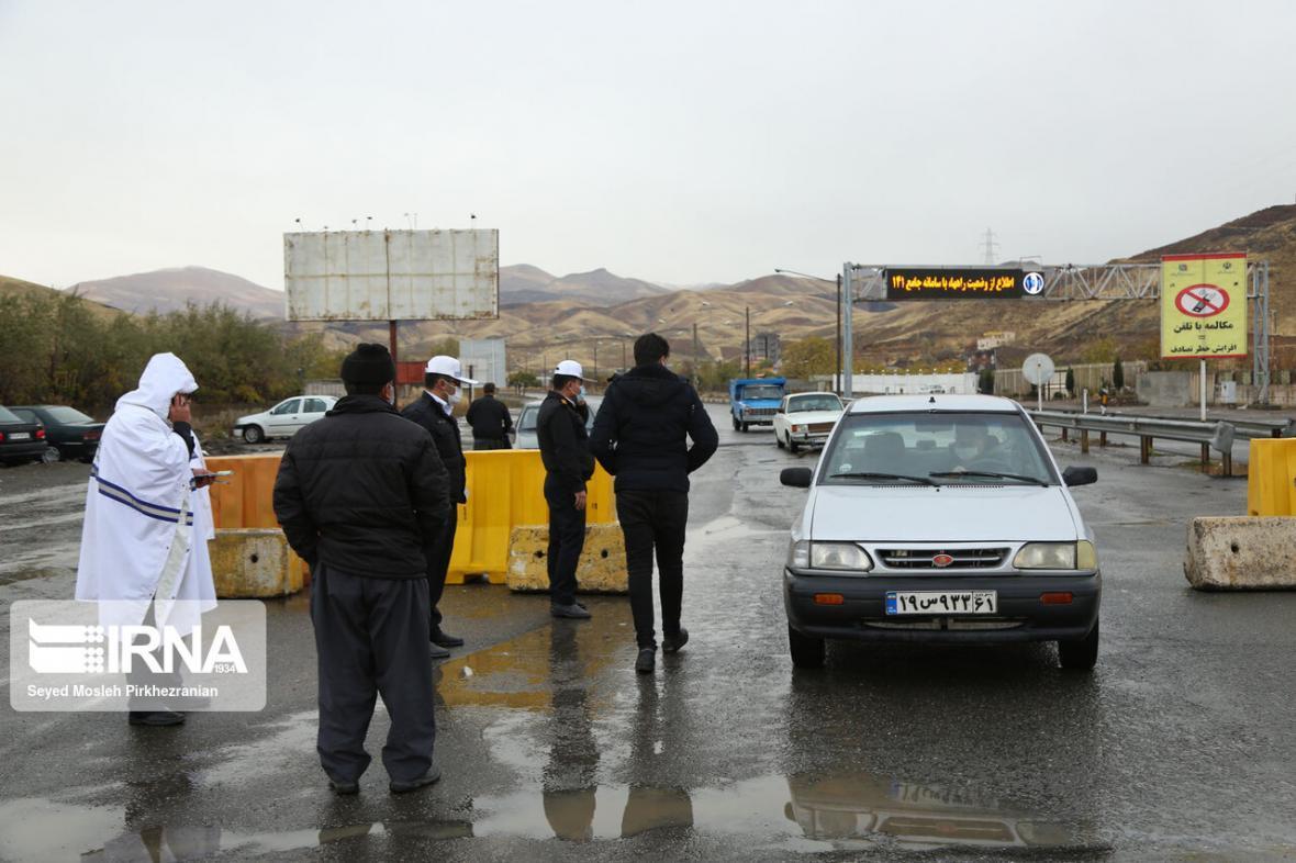 خبرنگاران تقویت ماموران پلیس راه در پنج شهرستان پرخطر در خوزستان