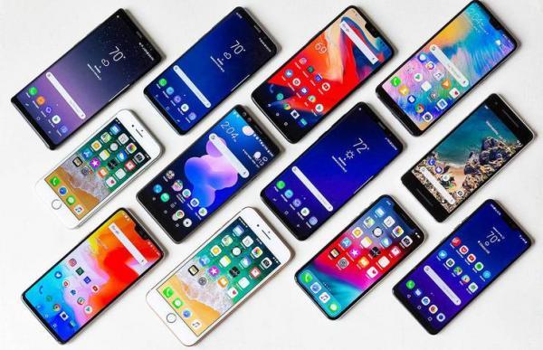 قیمت انواع گوشی موبایل، امروز 6 دی 99
