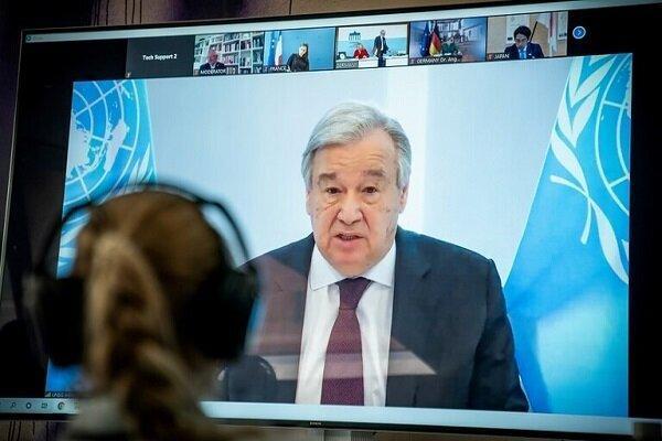 درخواست دبیر کل سازمان ملل از ایران و آمریکا برای خروج از بن بست