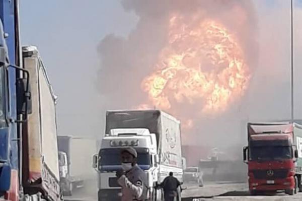 انفجار مهیب در مرز ایران و افغانستان ، از تلفات خبری در دست نیست
